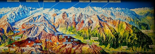 Карта Национального Парка Hohe Tauern