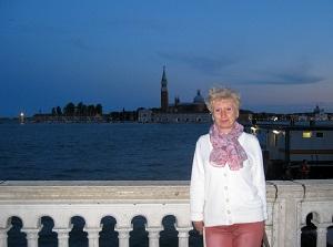 Светлана в Венеции