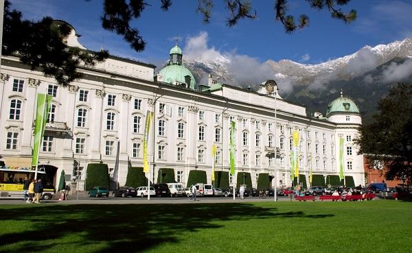 Дворец Хофбург в Инсбруке