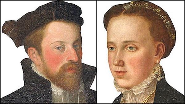 Фердинанд и его первая жена