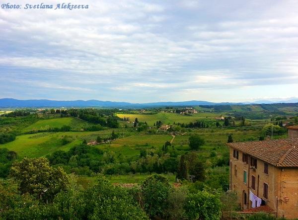 Тосканские виды