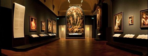 Один из залов Дворца Строцци (Флоренция, Италия)