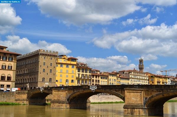 Мост Святой Троицы (Флоренция, Италия)