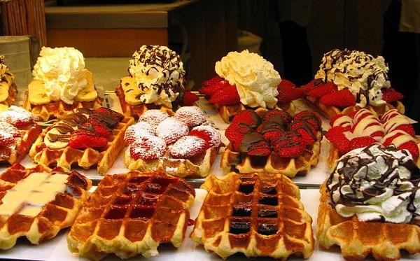 Вкуснейшие бельгийские вафли