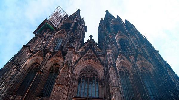 Взгляд на Кёльнский собор