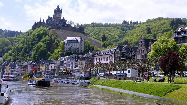 Немецкий городок Кохем