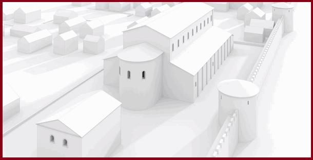 Реконструкция одного из вариантов римской базилики (один из многочисленных предшественников Кёльнского собора)