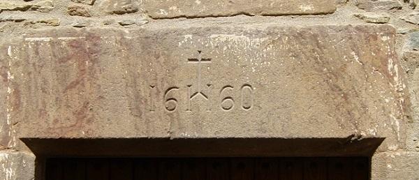 Дата постройки одного из домов (Рупит, Испания)